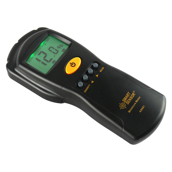 Digital hygrometer Moisture Meter for wood /cardboard Lumber/Concrete Buildings - Fast & Precise Humidity Tester