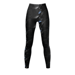 Dark Glow 3D Printed Women Leggings - Sports Fitness Store