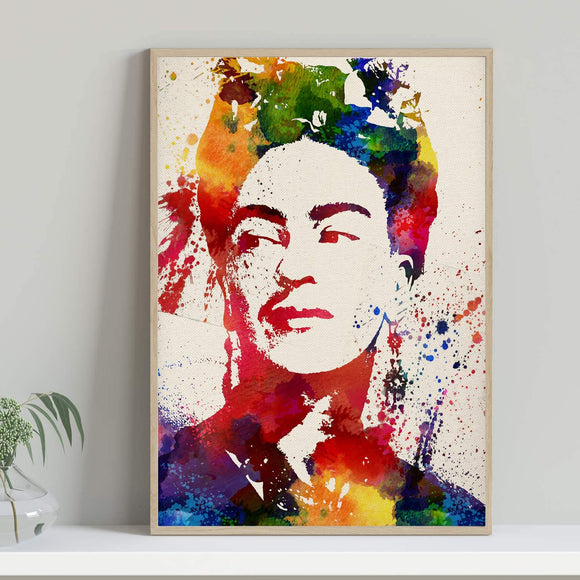 Frida Kahlo Print Wall Decor Unframed Painting for Home Office Living Room