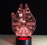 3D Holographic Lamp Star Wars