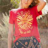 Women's Retro Vintage Casual T-Shirts