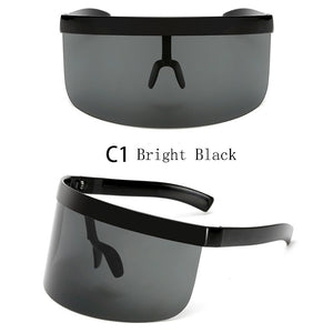 Oversized Sunglasses Shield (9 Colors)