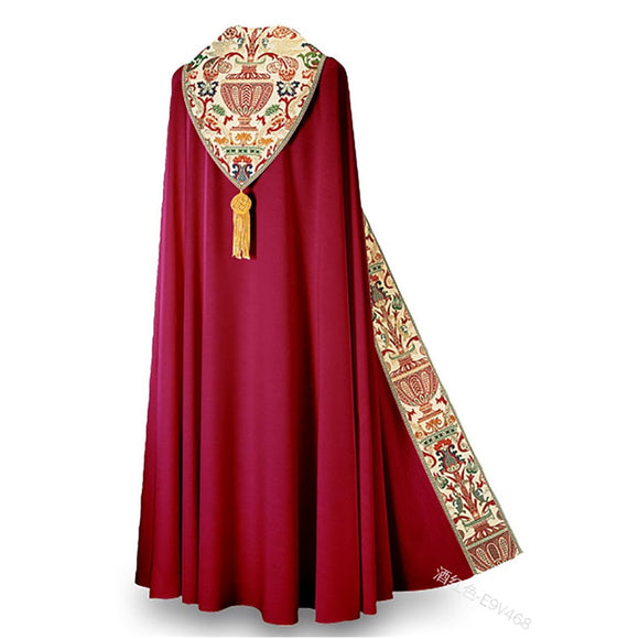 Men Muslim Dress Jubba Thobe Prayer Robe Gown Halloween Retro Medieval Priest Monk Missionary Cloak Cape Party Cosplay Costume