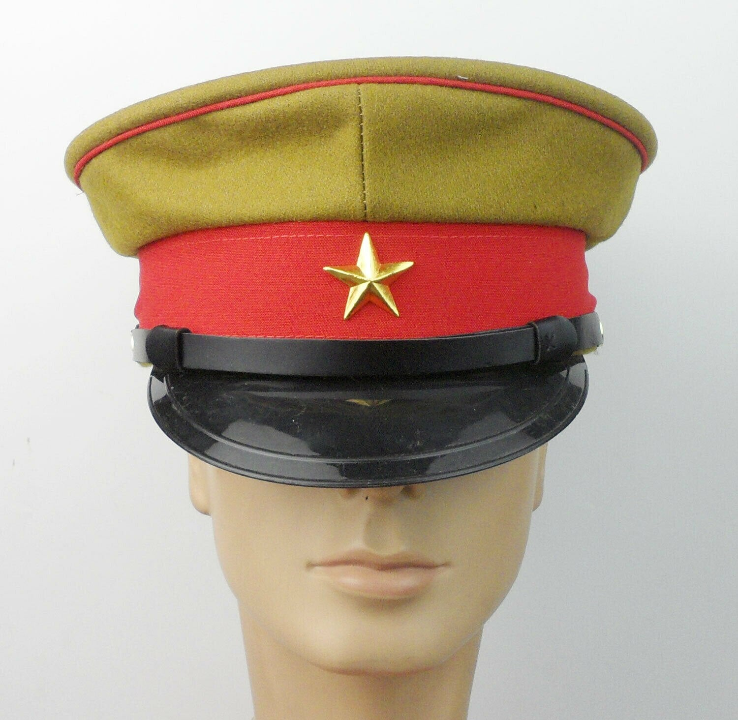WW2 Japanese Army officer Peaked Cap /& Japanese Army soldiers Cap Hat wool SZ XL