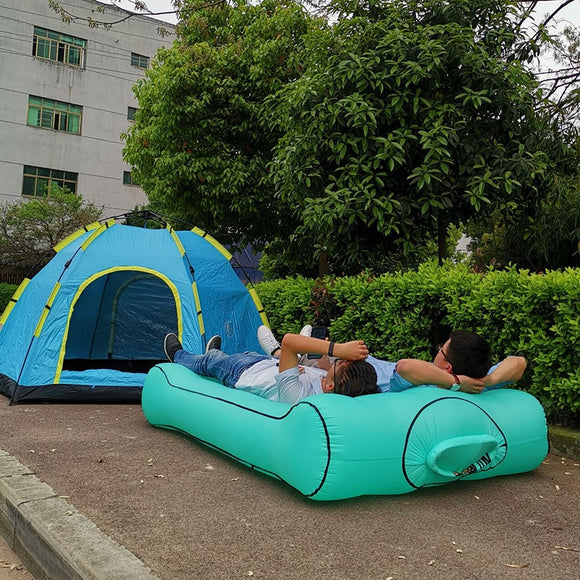 Air beanbag sofa Bed outdoor Inflatable bean bag chair waterproof bed