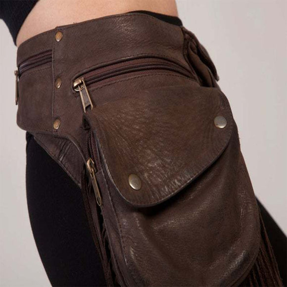 Medieval renaissance adult Viking Knight pirate cosplay vintage pocket belt clothing bag