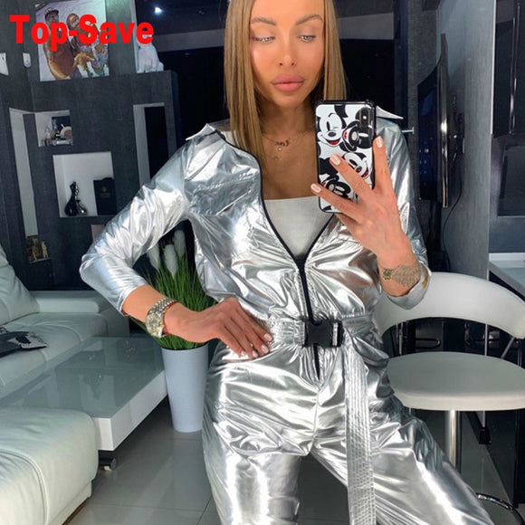 Hot Sale Women Sexy Elegant Overalls Temperament Rompers Bodycon Jumpsuit Female Long Sleeve Lace Casual Trousers Party Playsuit