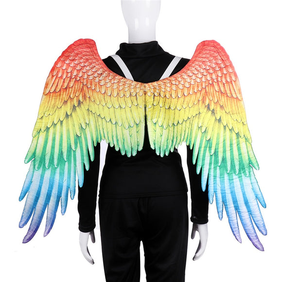 LGBT Gay prop Angel Rainbow Wing Gay Pride Parade costume chothing Rainbow Wings for Adult gay Lesbians Carnival halloween party