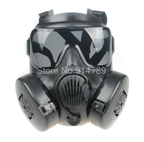 Tactical Full Face Mask with Fan