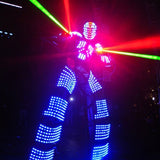 LED Robot Suits RGB Color Change