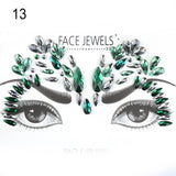 Adhesive Face Art Jewels