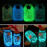 1Bag Colorful Fluorescent Glow Powder Super luminous Particles Sand Glow Pigment Glow in the Dark Home Party Decor #20