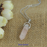 Healing Stone Crystal Pendant Necklace