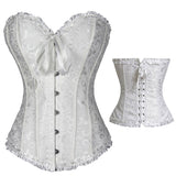 Miss Moly Steampunk Corset Gothic Bustier Bones Overbust Lace Dress 6XL Plus Size Slimming Top Waist Cincher Modeling Clothes