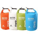 Brand New 4 Color 5L Outdoor swimming Waterproof Bag Camping Rafting Storage Dry Bag with Adjustable Strap Hook