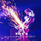 Dance Performance T Pants Stage Singer Wears Cold Fireworks Clothing Party DJ DS Disco Ballroom Light Costumes Supplies
