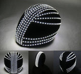 Luminous LED Monochrome Helmets