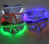 LED Glasses Laser Glasses For Nightclub Party LED Growing Light Performance Stage Costume Clothes