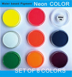 Water Based Neon Fluorescent UV Body Paint