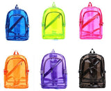 Transparent Backpack Waterproof Color Tinted Plastic
