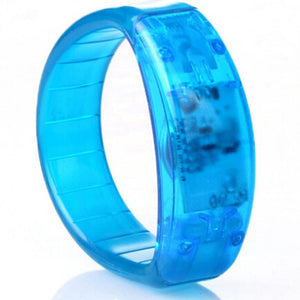 Sound Controlled LED Illuminated Bracelet