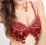 Sequin Beaded Tassel Bralettes (8 Colors)