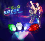 Neon Beaming Finger Tip Colorful LED