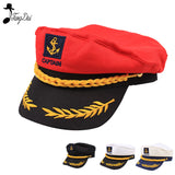 Adult Captain Costume Boat Yacht Ship Sailor Navy Captain Hat Party Cosplay Cap Sea Boating Nautical Hat