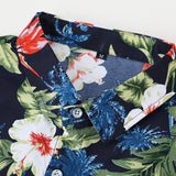 2018 Summer New Men's Short Sleeve Shirt Fashion Casual Hawaiian Shirt flower shirt male Plus Size 5XL 6XL 7XL