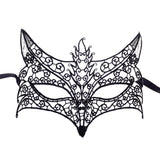 Black Sexy Lace Masquerade Half Face Mask