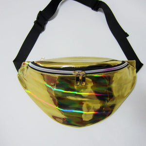 Iridescent Waist Bag Fanny Packs