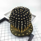 Punk Metallic Rivet Cap
