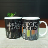 Star Mugs Lightsaber Heat Change Ceramic Coffee Mug 12 oz