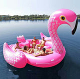 Giant Party Inflatable Float - for 6 Adults (Unicorn/Flamingo/Peacock)