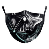 Star Wars Face Mask Darth Vader Mandalorian Cosplay Adult Dustproof Masks