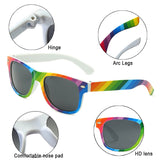 Kaleidoscope Glasses Fahion UV400 Outdoor Colorful Rainbow Sunglasses
