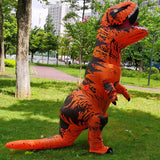 Adult Inflatable Costume Dinosaur Costumes T REX Blow Up party Fancy Dress Mascot Cosplay Costume For Men Women Kid Dino Cartoon
