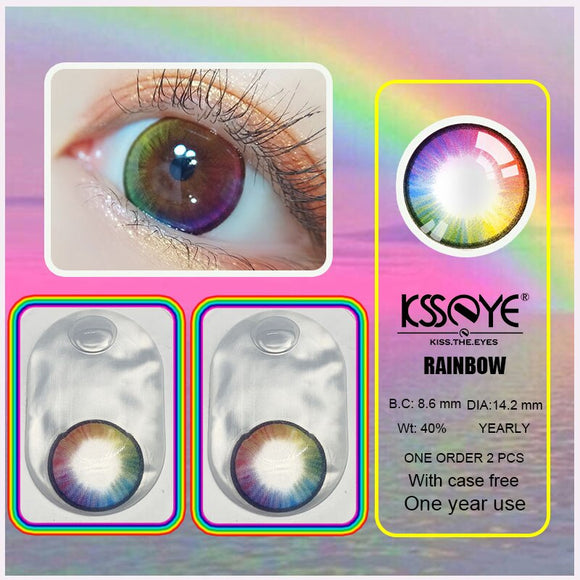 Bigsale  2pcs/pair 4 Tone Series  Colored Contact Lenses for eyes Colored Eye Lenses Color Contact lens Beautiful Pupil