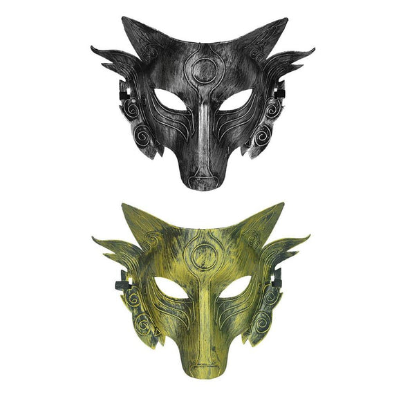Halloween Cosplay Wolf Costume Mask Full Face Mask for Men Women Suitable for masquerade, carnival, role-playing party Toys