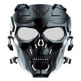 Airsoft Mechanical PC Lens Skull Mask Outdoor Sports Hunting Tactical Protection Full Mask CS Game Mask Military Paintball Masks