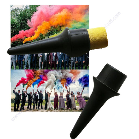 Hand Held Color Smoke Torch Magic Colored Trick Fire Tip Fun Toy Pyrotechnic Magician Halloween Film Photography Prop Tool Fog