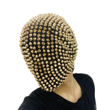 Rivets and Rhinestones Full Headwear Face Mask