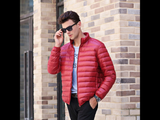 Men's Ultra Light Down Portable Parka Jacket (5 Colors)