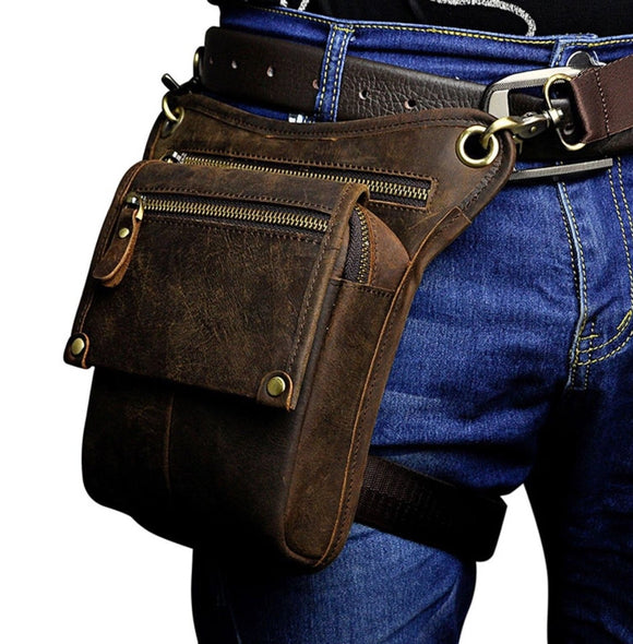 Vintage Genuine Leather Holster Bag (3 Colors)
