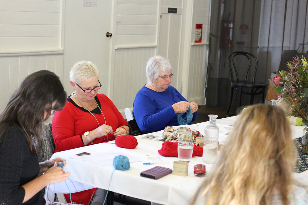 Bellingen Knitting workshop