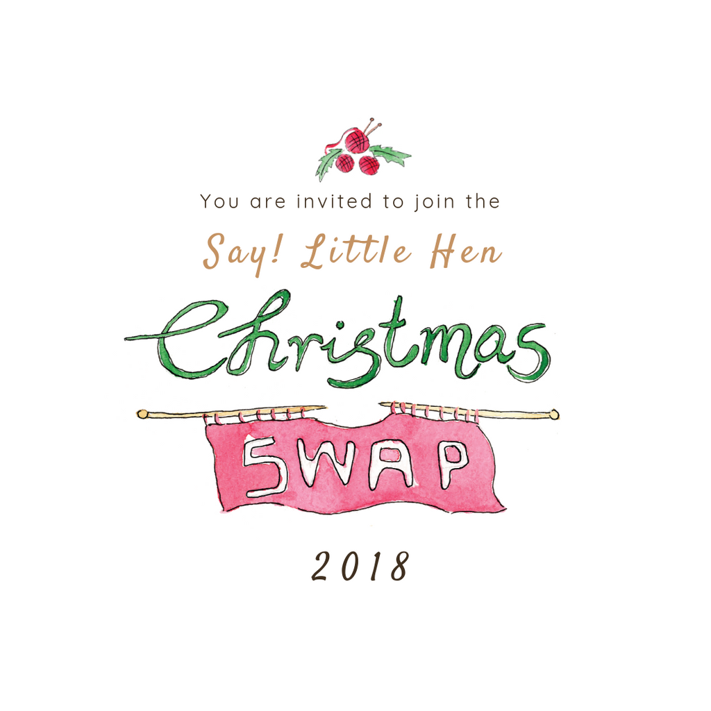 Christmas Ornament Swap – Say! Little Hen Shop