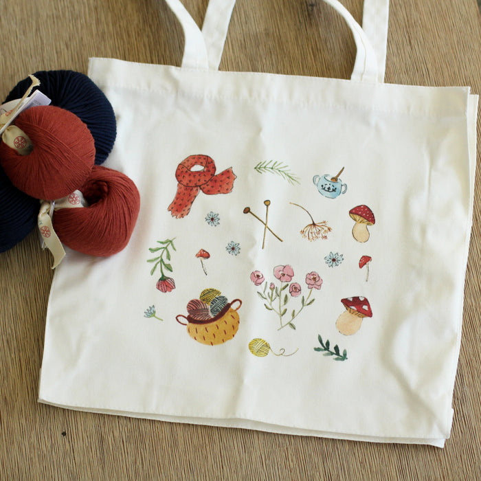 PRE ORDER Knitting Tote | Limited Edition