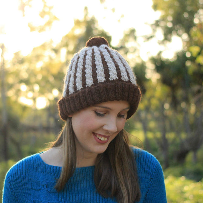 Wafer Cable Beanie | PDF Knitting Pattern