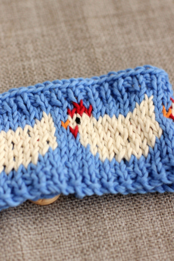 Pdf Knitting Pattern Clucking Hen Mug Cosy Instant Download