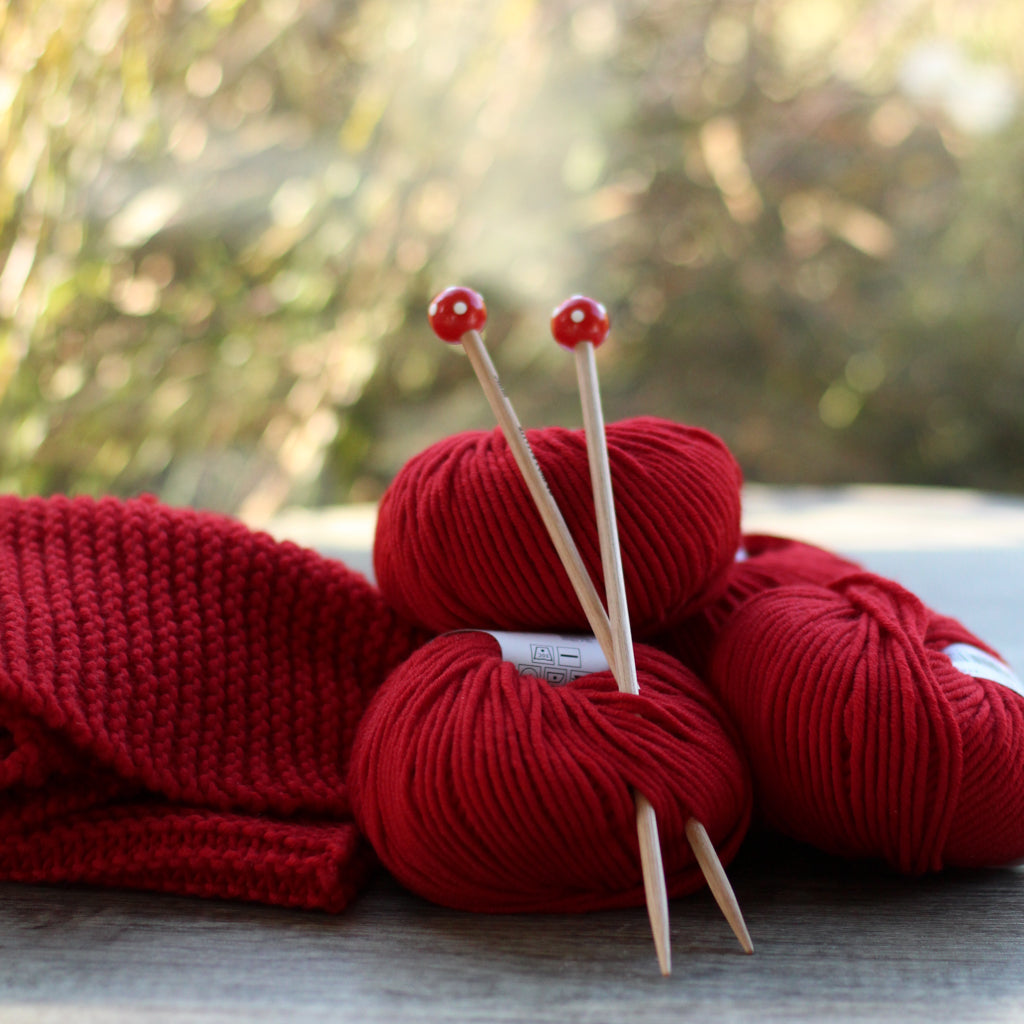 Beginner's Knitting Kit | Learn to Knit Project